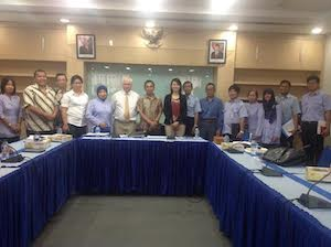 Presentation to Indonesian seafood sector